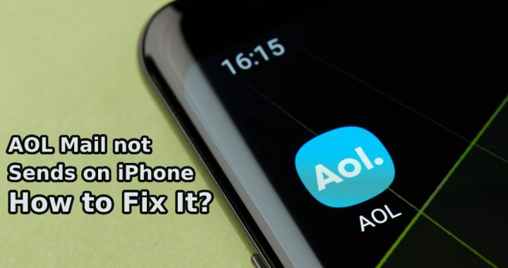 AOL Mail not sending on iPhone